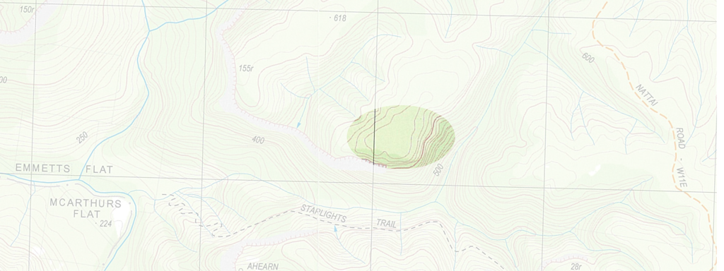 Contour Lines On A Topographic Map Connect.Interpreting Map Features Bushwalking 101